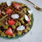 Рецепт Здоровой Зеленой Вафли